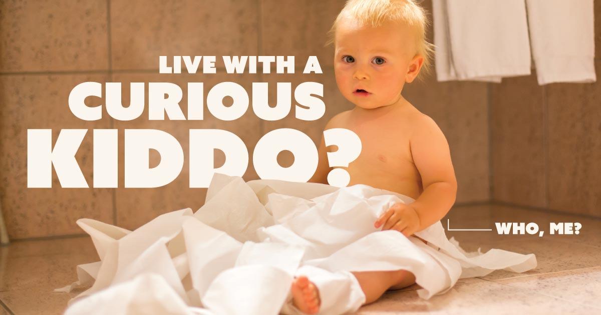 Live with a curious kiddo? Who, me?